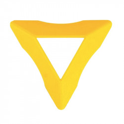 Cube Stand Yellow