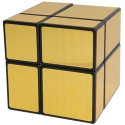 ShengShou 2x2 Mirror Cube Gold