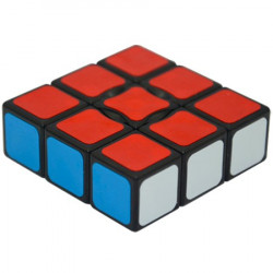 YJ 1x3x3 Super Floppy Cube Black