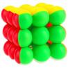 YJ 3x3 Ball Cube Stickerless
