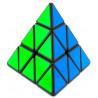 YJ GuanLong Magnetic Pyraminx Black