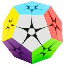 CubeStyle 2x2 Megaminx Magic Cube Stickerless