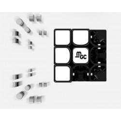 YJ MGC Magnetic 3x3 Black