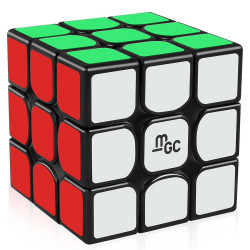 YJ MGC Magnetic 3x3 Black