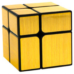YJ 2x2 Mirror Cube Gold