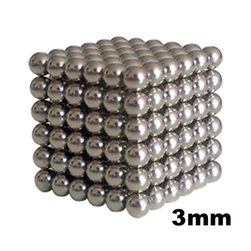 Neo Cubes 216 stk. 3mm Magnetic Balls Silver