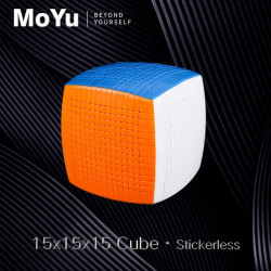 MoYu 15x15 Stickerless