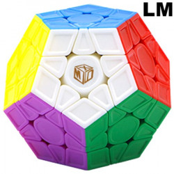 QiYi X-Man Galaxy Megaminx V2 LM Sculpted Stickerless