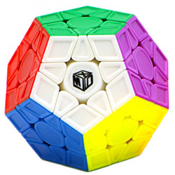 copy of QiYi X-Man Galaxy Megaminx V2 Sculpted Stickerless