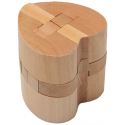 Heart lock - Wooden Puzzle 2