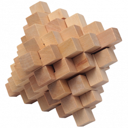 Natural Pineapple - Wooden...