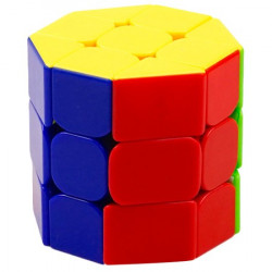 He Shu Octagonal Barrel 3x3 Cube Stickerless