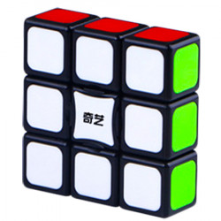 QiYi 1x3x3 Super Floppy Cube Black