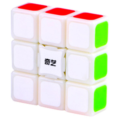 QiYi 1x3x3 Super Floppy Cube White