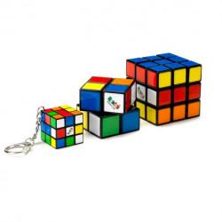 Rubik's Family Pack - 3x3, 2x2, 3x3 Keychain