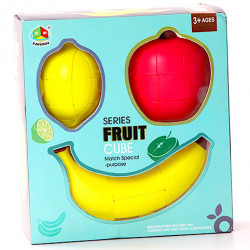 FanXin Fruit Cube Gift Box - Apple, Lemon, Banana