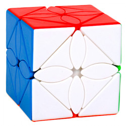MFJS MeiLong Maple Leaf Skewb Stickerless