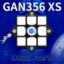 GAN 356 XS Magnetic 3x3 Black