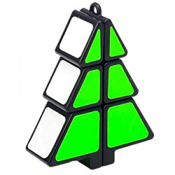 1x2x3 Christmas Tree Magic Cube Black