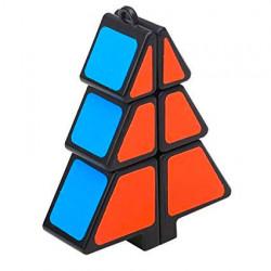 1x2x3 Christmas Tree Magic Cube Black