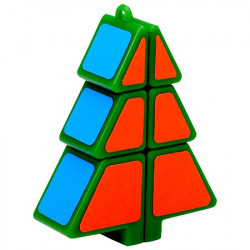 1x2x3 Christmas Tree Magic Cube Green