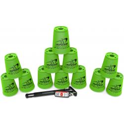 Speed Stack - Standard Neon Green + Quick Releaes Stem