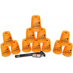 Speed Stack - Standard Neon Orange + Quick Releaes Stem