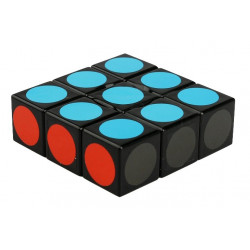 LanLan 1x3x3 Super Floppy Cube Black