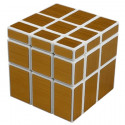 ShengShou Mirror Cube Gold (White)